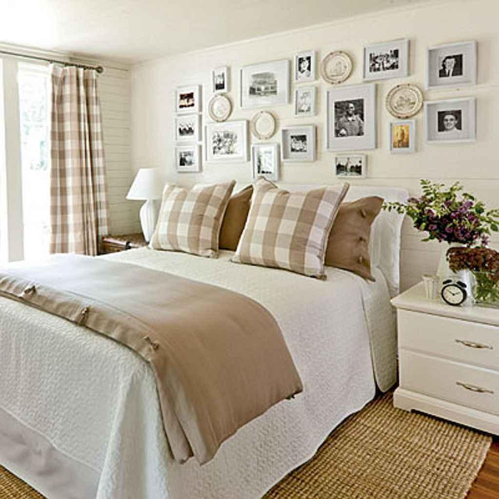 40 Modern Farmhouse Bedroom Decor Ideas and Makeover (36)