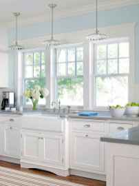 45 Modern Farmhouse Kitchen Cabinets Decor Ideas and Makeover (10)