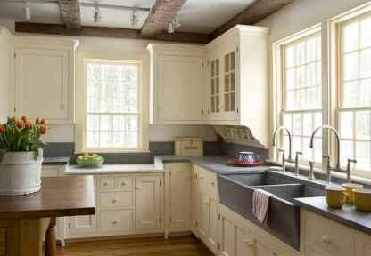 45 Modern Farmhouse Kitchen Cabinets Decor Ideas and Makeover (13)