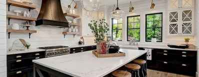 45 Modern Farmhouse Kitchen Cabinets Decor Ideas and Makeover (20)