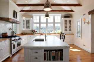 45 Modern Farmhouse Kitchen Cabinets Decor Ideas and Makeover (22)