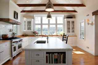 45 Modern Farmhouse Kitchen Cabinets Decor Ideas and Makeover (22)