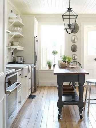 45 Modern Farmhouse Kitchen Cabinets Decor Ideas and Makeover (36)
