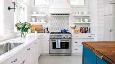 45 Modern Farmhouse Kitchen Cabinets Decor Ideas and Makeover (41)