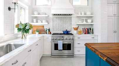 45 Modern Farmhouse Kitchen Cabinets Decor Ideas and Makeover (41)