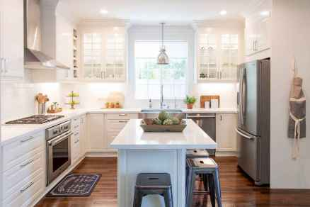 45 Modern Farmhouse Kitchen Cabinets Decor Ideas and Makeover (7)