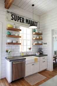 45 Modern Farmhouse Kitchen Cabinets Decor Ideas and Makeover (8)