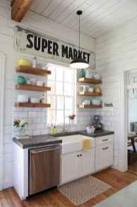 45 Modern Farmhouse Kitchen Cabinets Decor Ideas and Makeover (8)