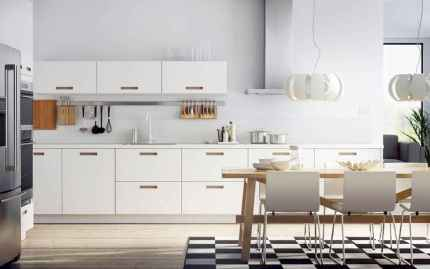 45 Modern Farmhouse Kitchen Cabinets Decor Ideas and Makeover (9)