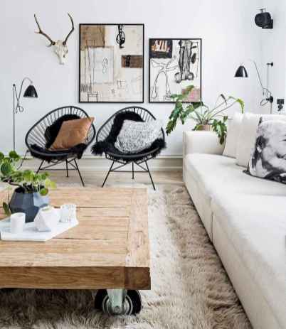 50 Best Rustic Apartment Living Room Decor Ideas and Makeover (29)