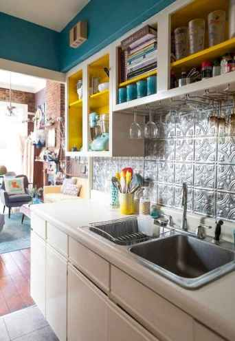 50 Cool Apartment Kitchen Rental Decor Ideas and Makeover (25)