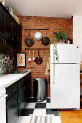 50 Cool Apartment Kitchen Rental Decor Ideas and Makeover (34)