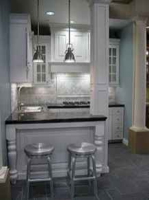 50 Cool Apartment Kitchen Rental Decor Ideas and Makeover (49)