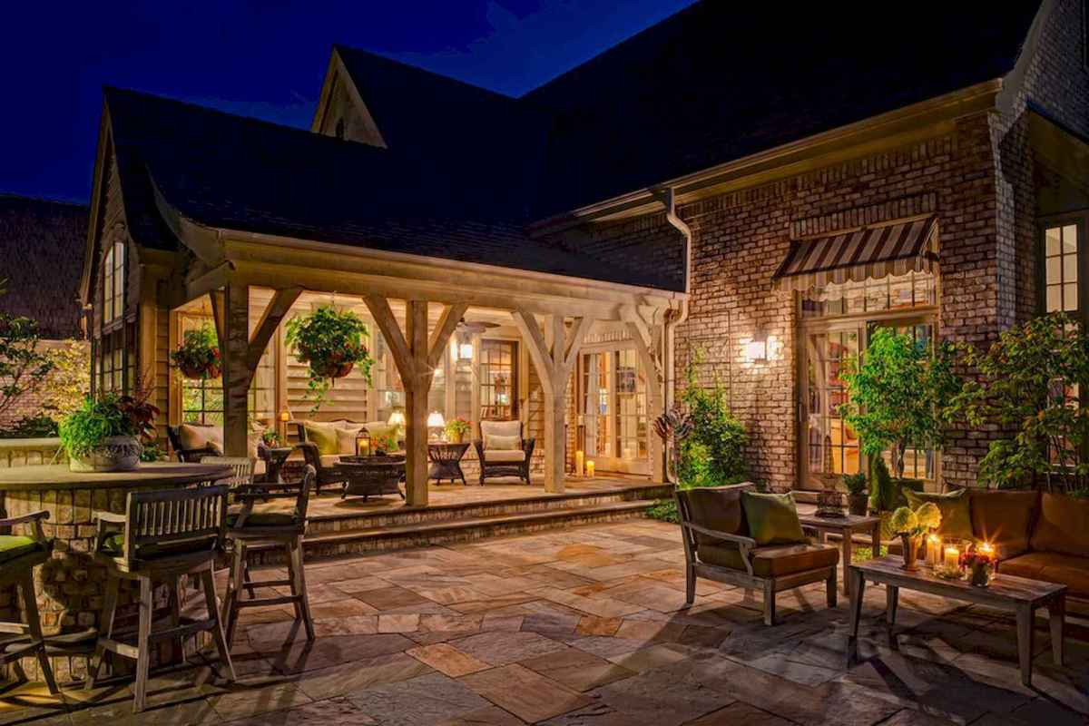55 Beautiful Backyard Lighting Decor Ideas and Remodel (14)