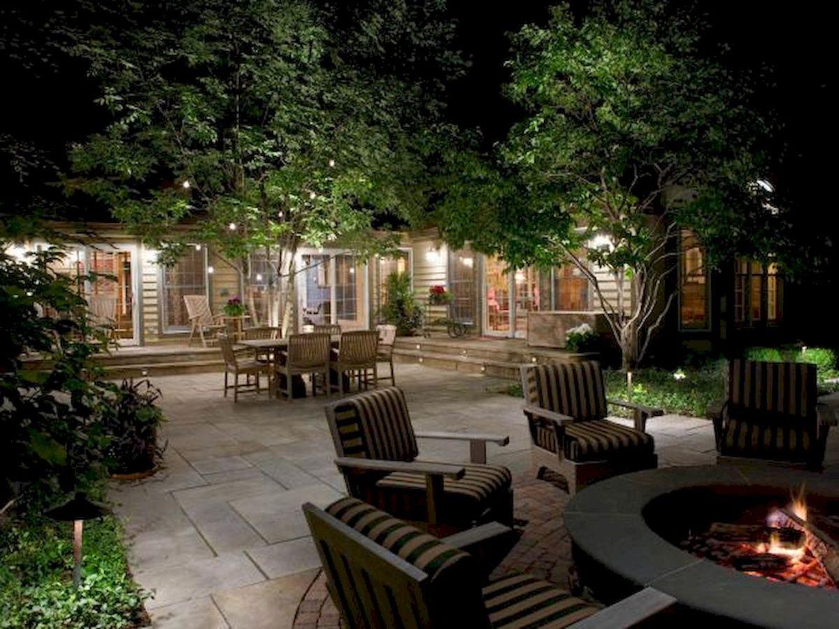 55 Beautiful Backyard Lighting Decor Ideas and Remodel (3)