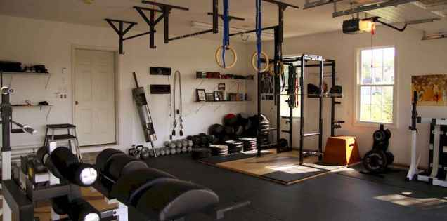60 Cool Home Gym Ideas Decoration on a Budget for Small Room (26)