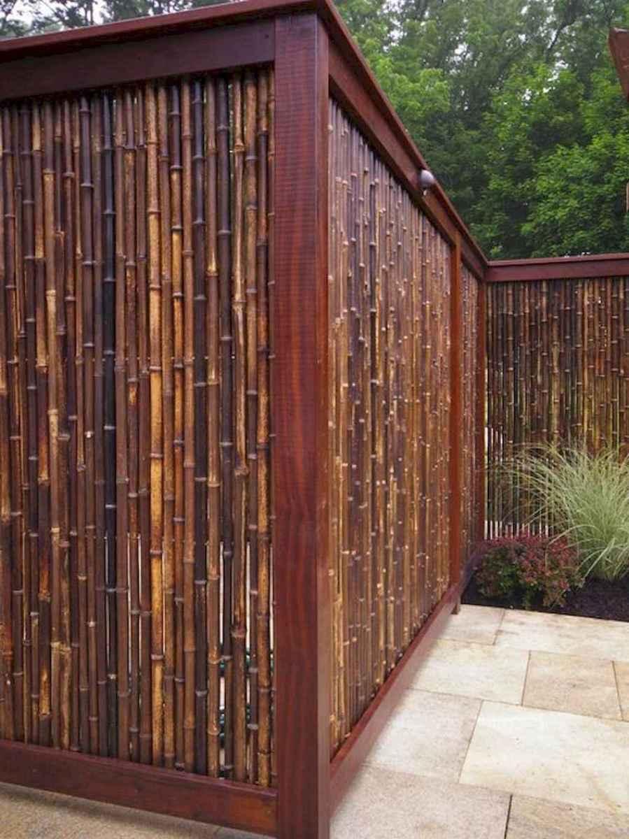 70 Gorgeous Backyard Privacy Fence Decor Ideas on A Budget (12)