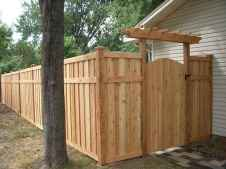 70 Gorgeous Backyard Privacy Fence Decor Ideas on A Budget (64)