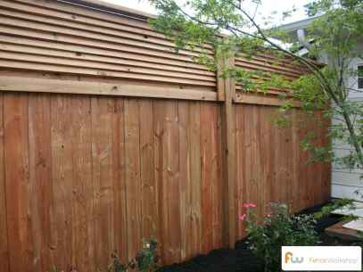 70 Gorgeous Backyard Privacy Fence Decor Ideas on A Budget (66)