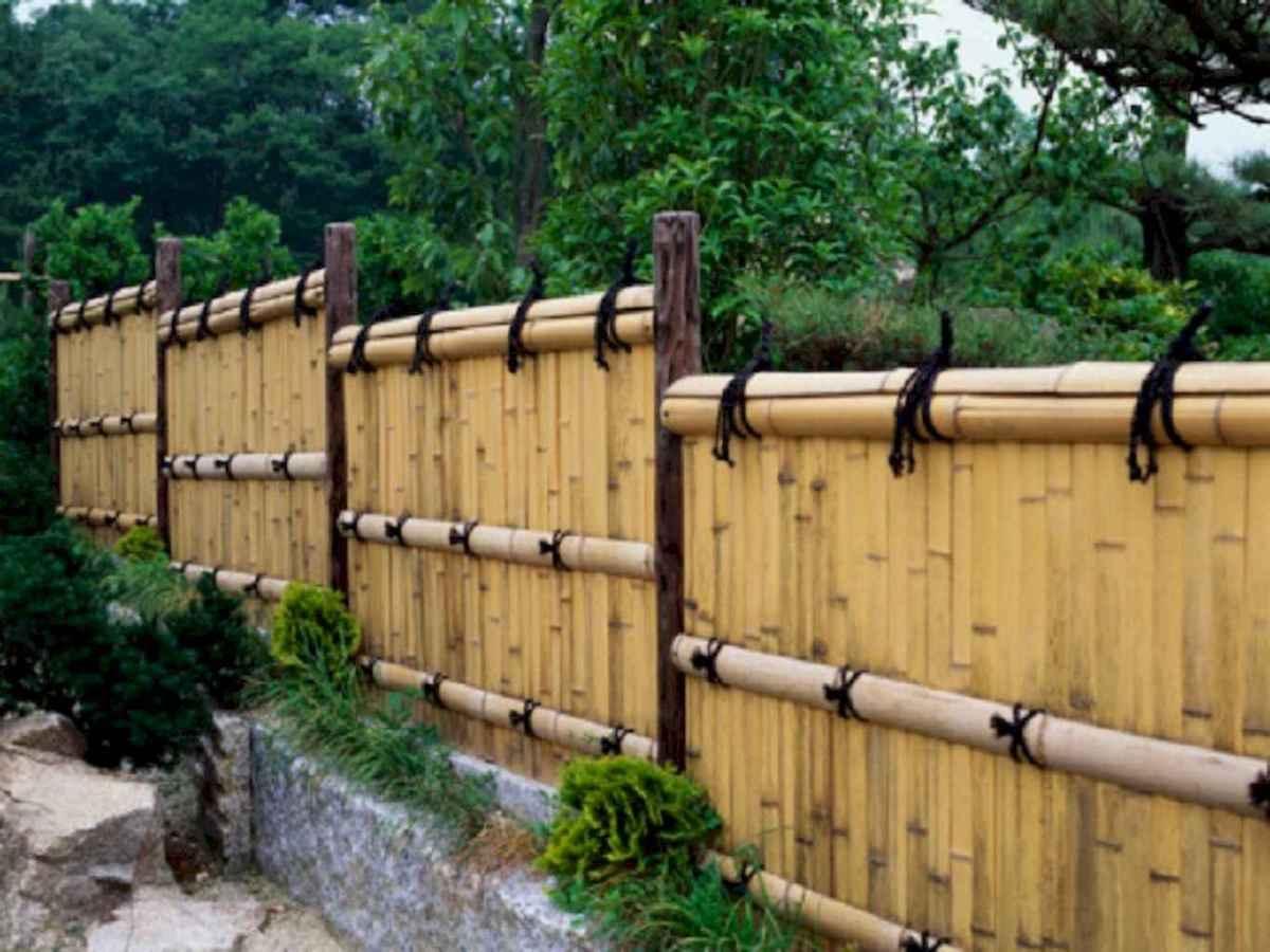 70 Gorgeous Backyard Privacy Fence Decor Ideas on A Budget (69)