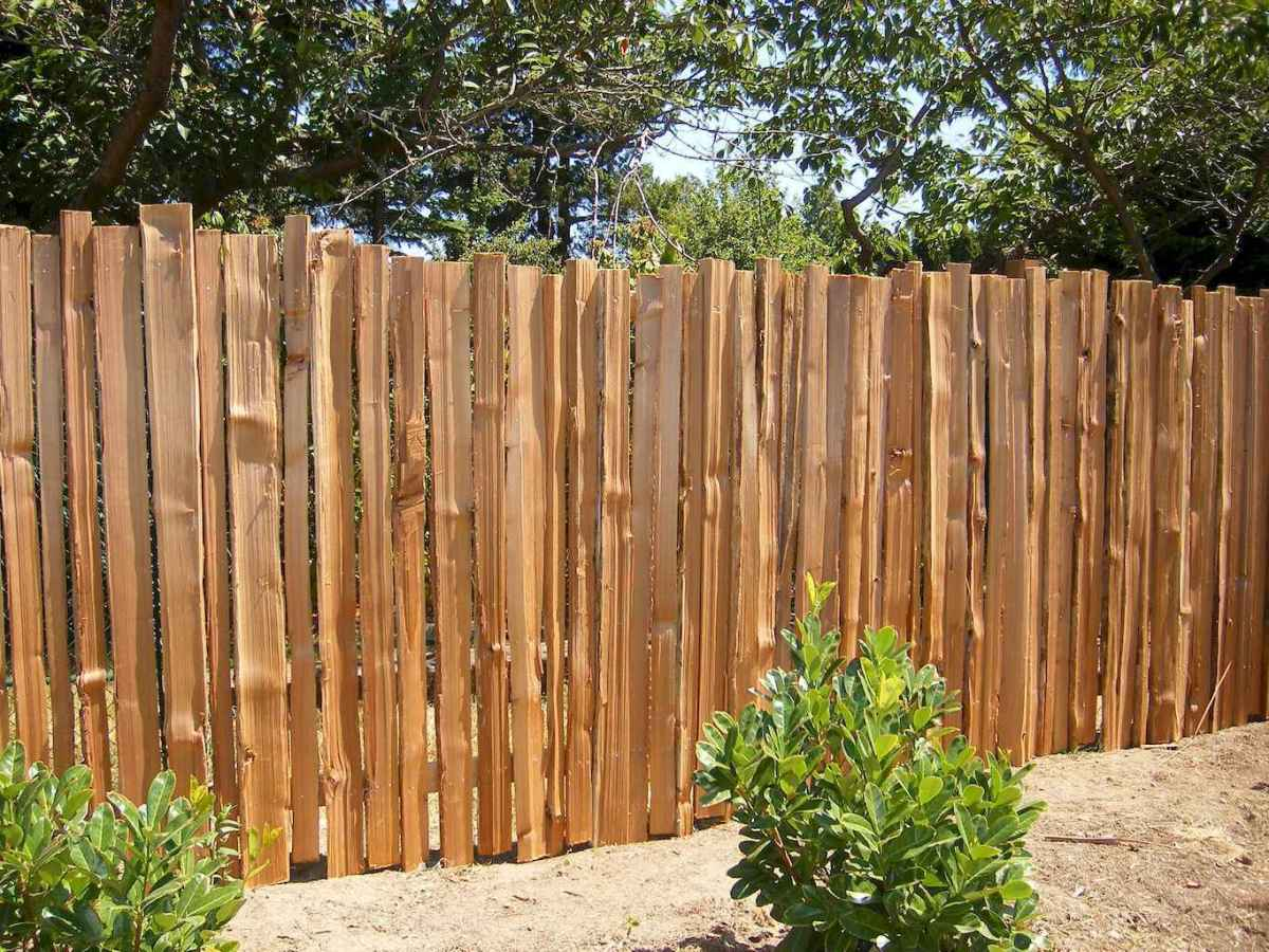 70 Gorgeous Backyard Privacy Fence Decor Ideas on A Budget (70)
