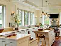 80 Modern Farmhouse Kitchen Lighting Decor Ideas and Remodel (36)