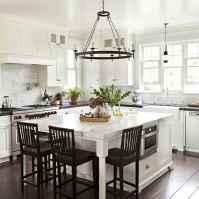 80 Modern Farmhouse Kitchen Lighting Decor Ideas and Remodel (37)