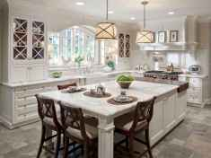 80 Modern Farmhouse Kitchen Lighting Decor Ideas and Remodel (43)