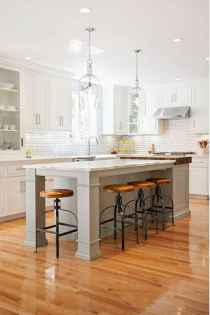 80 Modern Farmhouse Kitchen Lighting Decor Ideas and Remodel (45)
