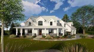 90 Awesome Modern Farmhouse Plans Design Ideas and Remodel (10)