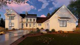 90 Awesome Modern Farmhouse Plans Design Ideas and Remodel (11)