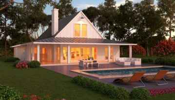 90 Awesome Modern Farmhouse Plans Design Ideas and Remodel (21)