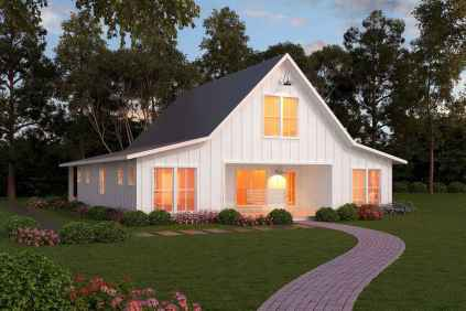 90 Awesome Modern Farmhouse Plans Design Ideas and Remodel (84)