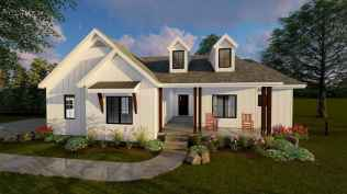 90 Awesome Modern Farmhouse Plans Design Ideas and Remodel (9)
