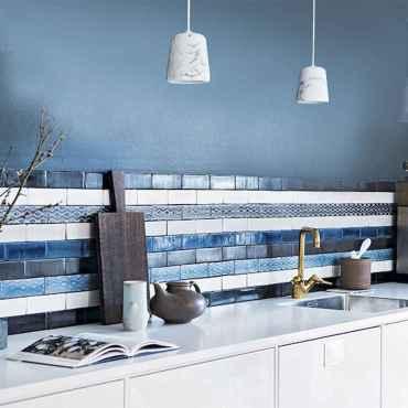 100 Stunning Kitchen Backsplash Decorating Ideas and Remodel (101)