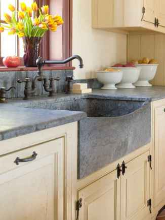 70 Pretty Kitchen Sink Decor Ideas and Remodel (22)
