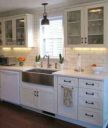 70 Pretty Kitchen Sink Decor Ideas and Remodel (54)