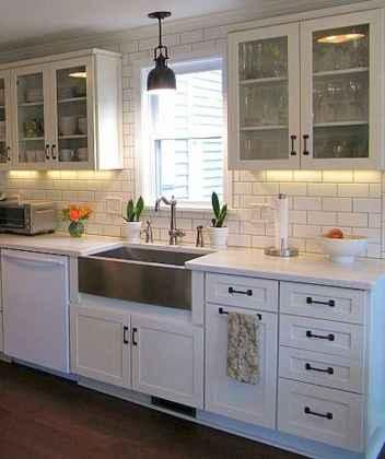 70 Pretty Kitchen Sink Decor Ideas and Remodel (54)