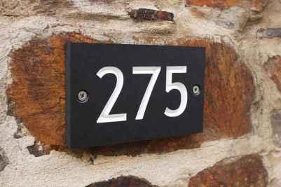 Best 90 Number Sign Home Design Ideas on A Budget (3)