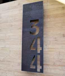 Best 90 Number Sign Home Design Ideas on A Budget (4)