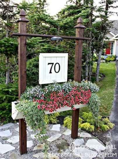 Best 90 Number Sign Home Design Ideas on A Budget (44)