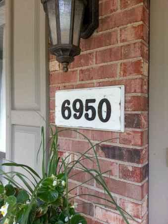 Best 90 Number Sign Home Design Ideas on A Budget (73)
