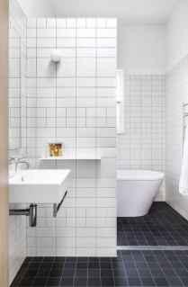 100 Farmhouse Bathroom Tile Shower Decor Ideas And Remodel To Inspiring Your Bathroom (103)