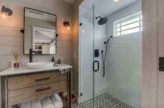 100 Farmhouse Bathroom Tile Shower Decor Ideas And Remodel To Inspiring Your Bathroom (2)
