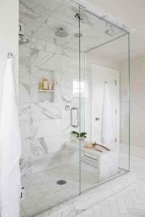 100 Farmhouse Bathroom Tile Shower Decor Ideas And Remodel To Inspiring Your Bathroom (69)