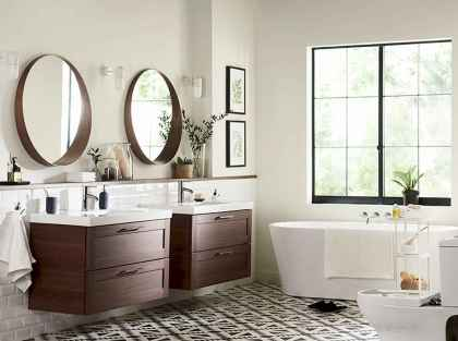 110 Absolutely Stunning Bathroom Decor Ideas And Remodel (77)