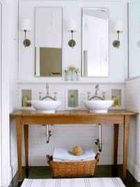 120 Modern Farmhouse Bathroom Design Ideas And Remodel (101)