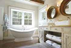 120 Modern Farmhouse Bathroom Design Ideas And Remodel (38)