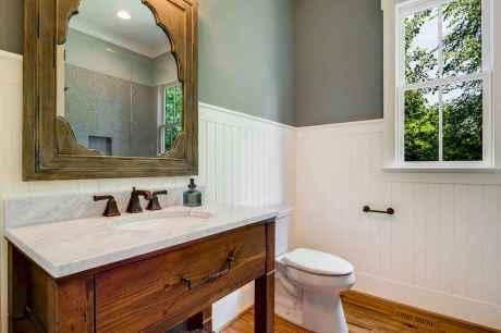 120 Modern Farmhouse Bathroom Design Ideas And Remodel (57)
