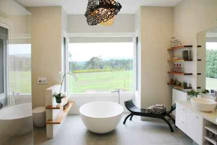 120 Modern Farmhouse Bathroom Design Ideas And Remodel (6)